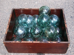 ガラス玉 浮き球 Fishing Float Glass Balls3